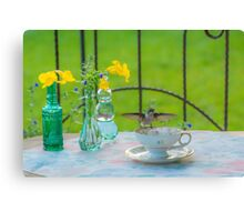 Time For Tea 4 Canvas Print