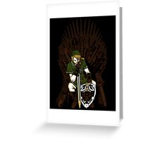 Game of Blades Poster Greeting Card