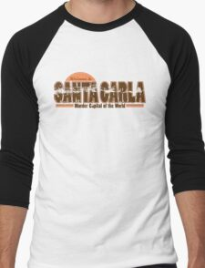 Santa Carla Men's Baseball ¾ T-Shirt
