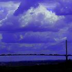 The QE2 Bridge and Dartford Power Station by Chris1249