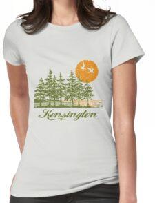 Kensington, Philadelphia Womens Fitted T-Shirt