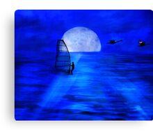 Night Sail Canvas Print