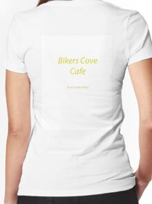 Bikers cove Women's Fitted V-Neck T-Shirt