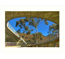 Circular Bridge Art Print