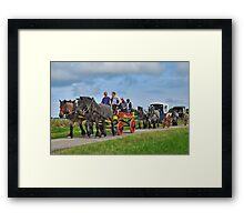 Farmlands Ride Framed Print