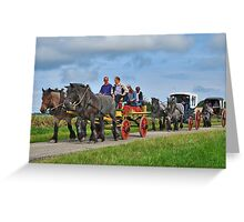Farmlands Ride Greeting Card