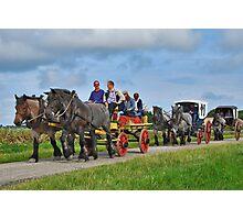 Farmlands Ride Photographic Print