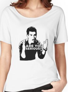 New Girl - Are you serious?! Women's Relaxed Fit T-Shirt