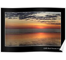 ''Sunset Cable Beach'' Poster