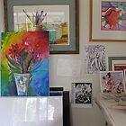 Corner of my studio by Karin Zeller