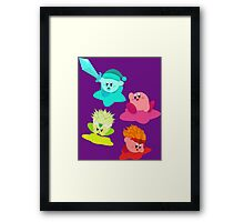 Kirby (Request) Framed Print