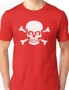 Jolly Roger Pirate Skull and Crossbones Unisex T-Shirt