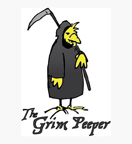 The Grim Peeper Photographic Print