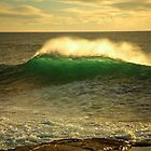 sunrise swell. bicheno, tasmania by tim buckley | bodhiimages photography