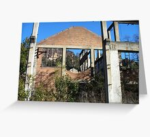 Glen Davis Ruins Greeting Card