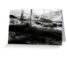 past the reef... out to sea Greeting Card