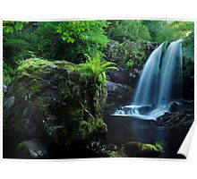 Waterfall On The Campsie Fells Scotland Poster