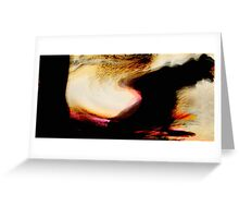 moving peaks..... away to higher ground Greeting Card