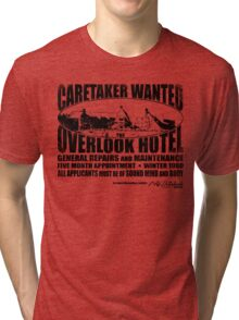 Caretaker Wanted Tri-blend T-Shirt