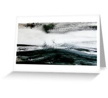 storm brewing.... sail out past the reef Greeting Card