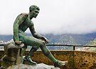Statue in the rain, Villa Cimbrone, Ravello, Amalfi Coast, Italy by Andrew Jones