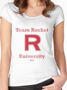 Team Rocket University Women's Fitted Scoop T-Shirt