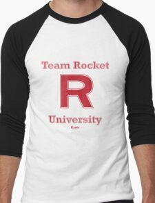 Team Rocket University Men's Baseball ¾ T-Shirt