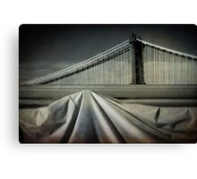 Bridges shapes Canvas Print
