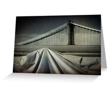 Bridges shapes Greeting Card
