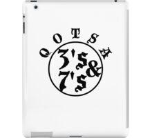 Qotsa 3s & 7s Baseball Shirt Design iPad Case/Skin