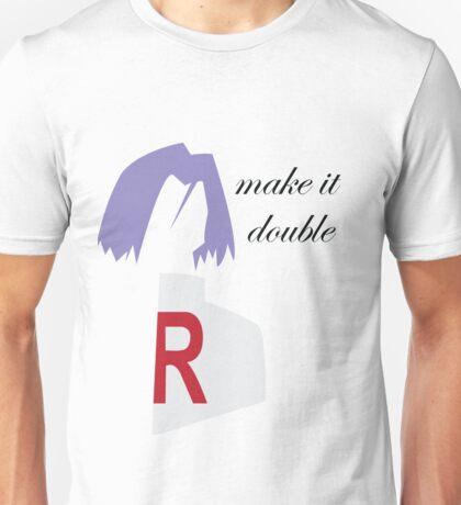 Make it Double Unisex T-Shirt