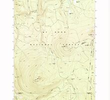 USGS Topo Map Oregon Pinhead Buttes 281100 1986 24000 by wetdryvac