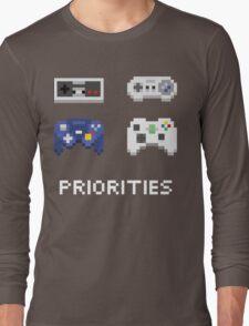 Priorities Long Sleeve T-Shirt