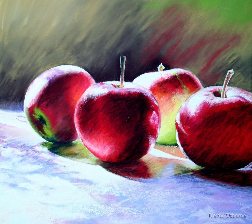 Fresh Apples by Trevor Osborne