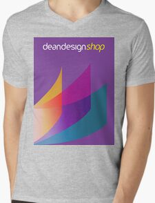 Dean Design Corporate Printing Mens V-Neck T-Shirt