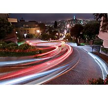 Lombard Street Photographic Print