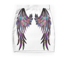 Dark colors wings Mini Skirt