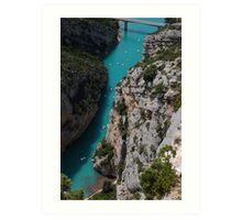 Gorges du Verdon, France Art Print