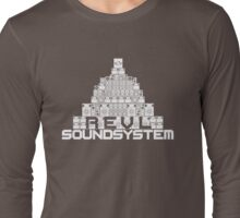 Pyramid of Sound(System) Long Sleeve T-Shirt