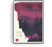 Vice City Canvas Print
