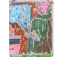 Drawing: Film Noir II (2014) iPad Case/Skin