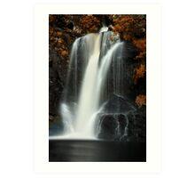 Inversnaid Waterfall Art Print