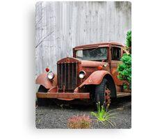 Rusty Ride Canvas Print