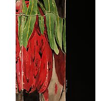 Flowers Drowning series - Protea Photographic Print