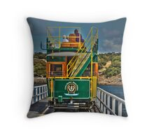 Victor Harbor Horse Drawn Tram Throw Pillow