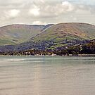 Snarker Pike From Lake Windermere by John Hare
