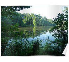 Summer on Greenbelt Lake Poster
