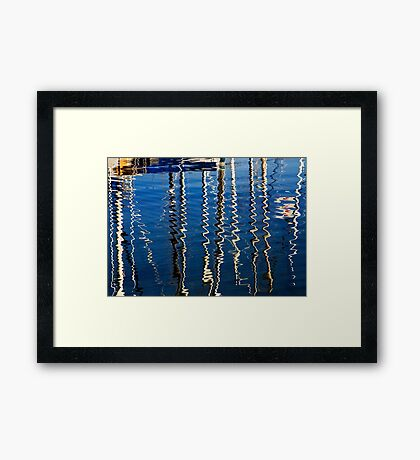 Marina Abstract Framed Print