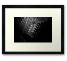 Steps Framed Print