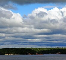 Cloud Cover by Debbie Oppermann